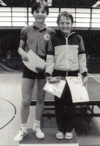 Stadtmeister Schüler-Doppel 1985: Ulf Hommel & Martin Mermi