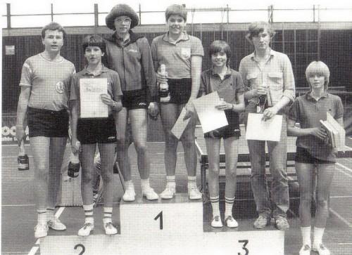 Stadtmeister Mixed 1982: Gudrun Fischer & Harald Fischer